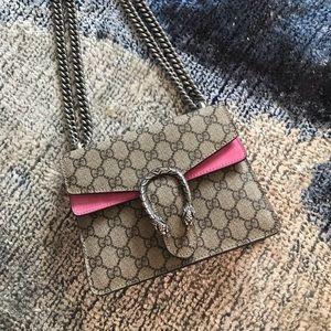 Gucci Pink Mini Dionysus 💗